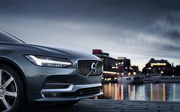 全新S90北京车展沃尔沃汽车自动驾驶科技和北欧豪华新趋势