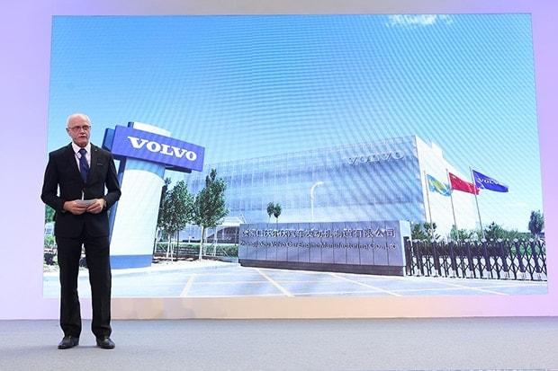 全球芯中国造沃尔沃汽车张家口发动机工厂全线投产