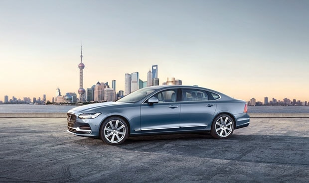 沃尔沃全新S90长轴距豪华轿车开启预售价格38.98万元起