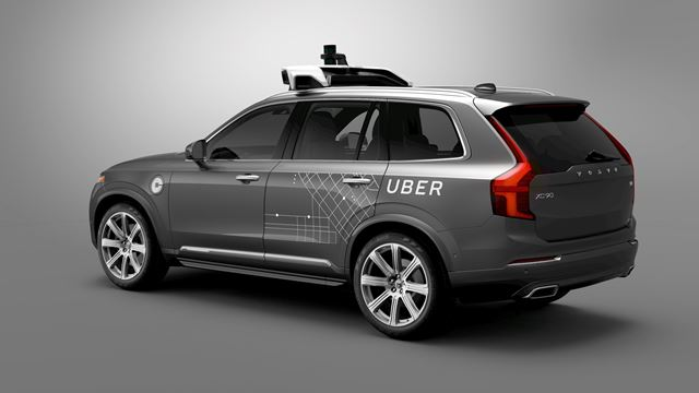 沃尔沃汽车宣布将向优步出售数万辆基础车型用于最新自动驾驶技术研发