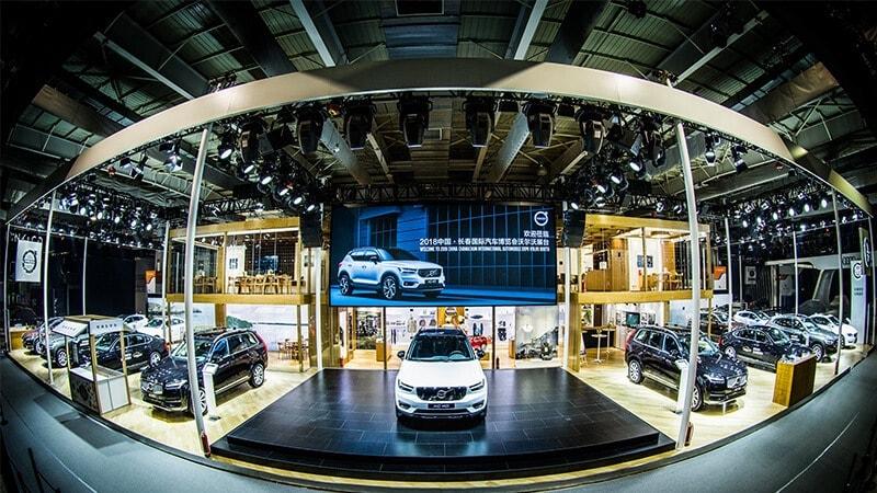 沃尔沃全新XC40耀目登场最强年度车阵容亮相长春车展