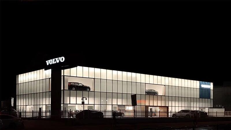 携手和谐商都在沃郑州郑沃沃尔沃4S店盛大开业