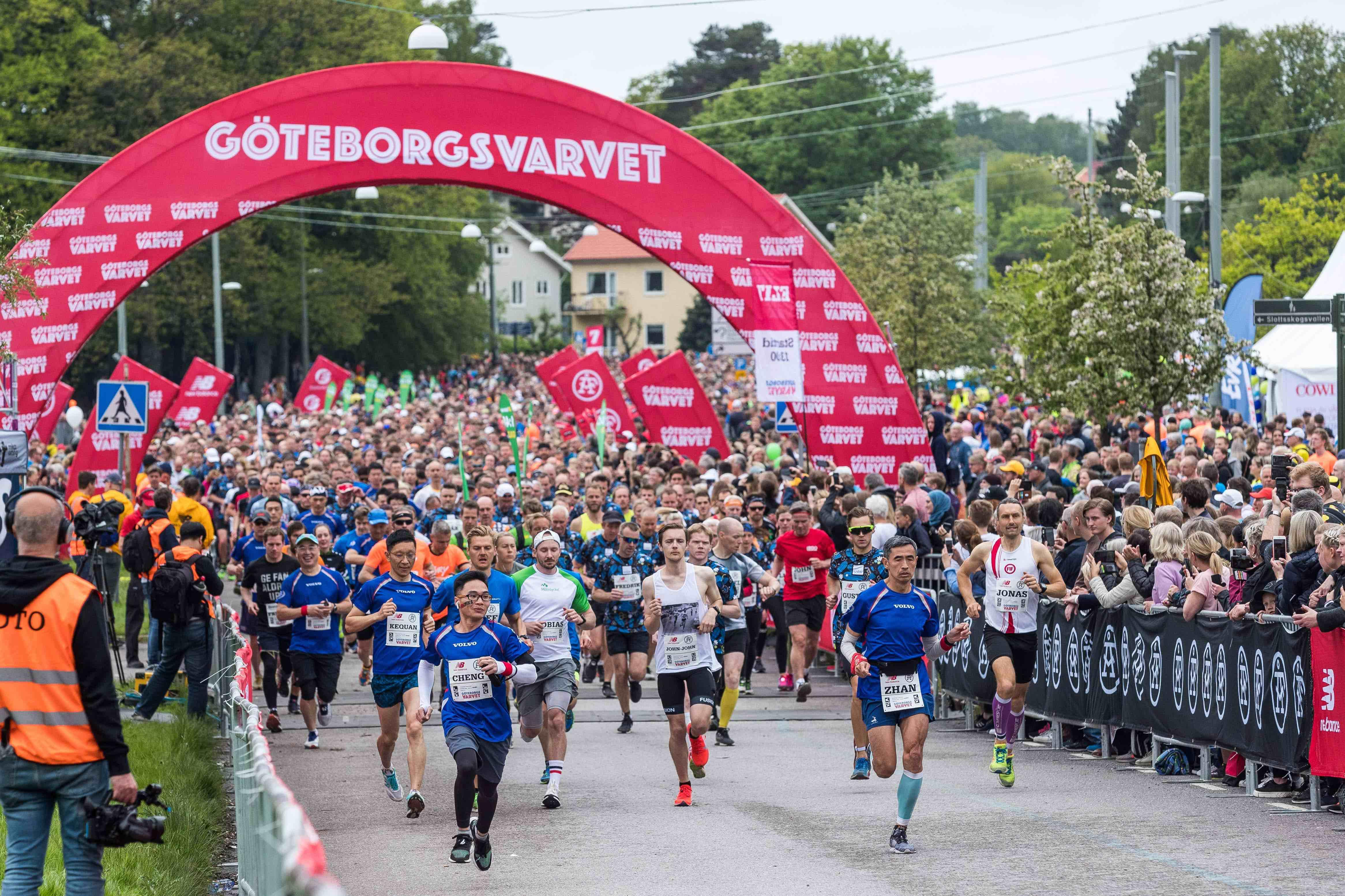 一路清呼吸沃尔沃汽车幸福守护2019哥德堡半程马拉松