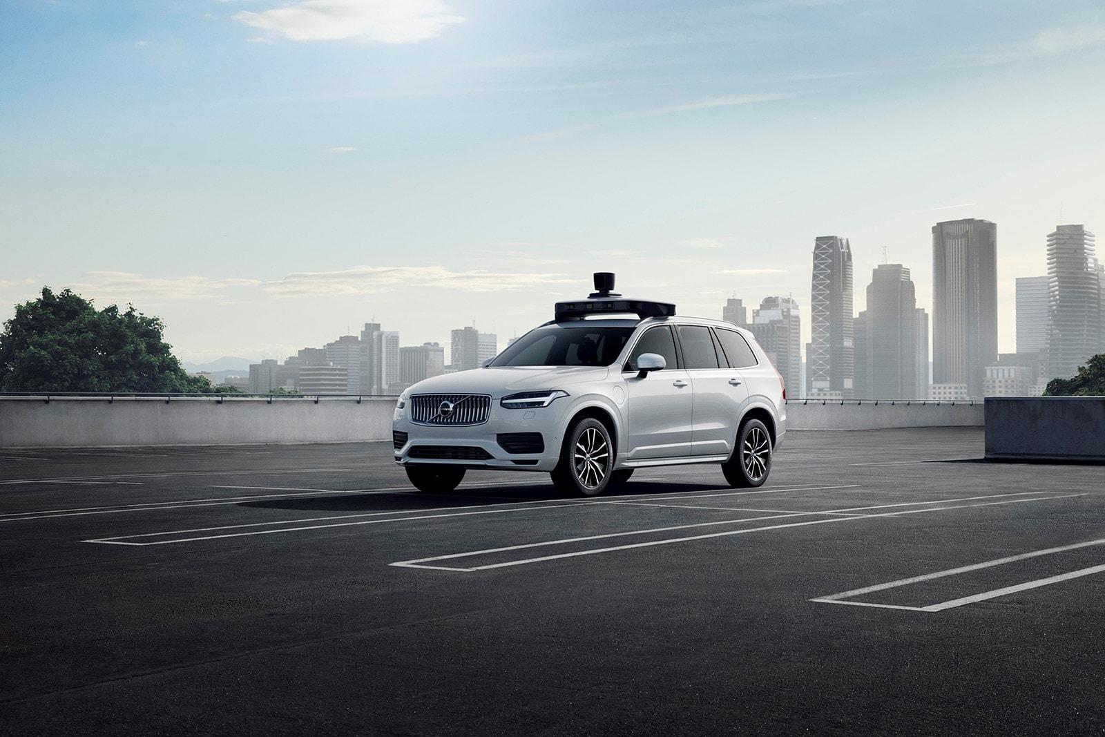 沃尔沃汽车与优步联合推出自动驾驶基础车型