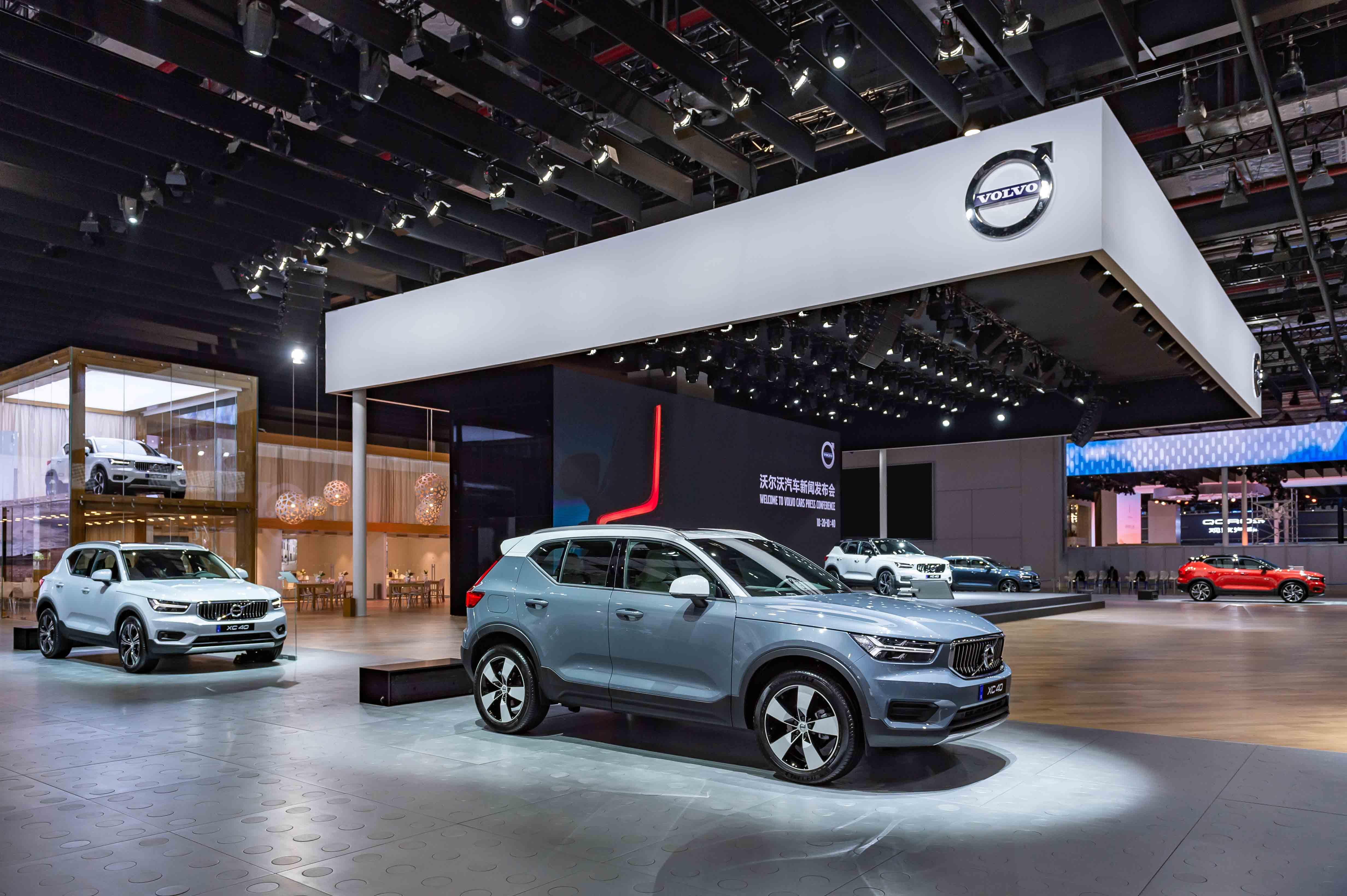林志玲倾情助阵点燃灵感新生活都市豪华纯正SUV沃尔沃汽车全新XC40预售开启