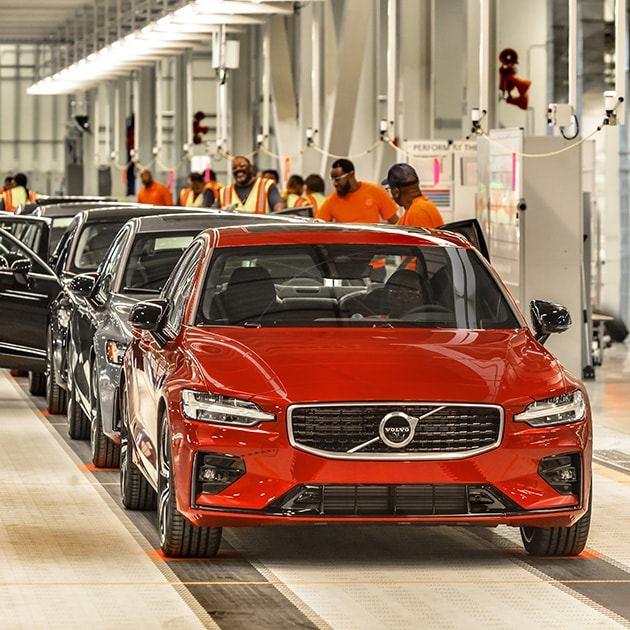 Volvo Cars new manufacturing plant in South Carolina, USA