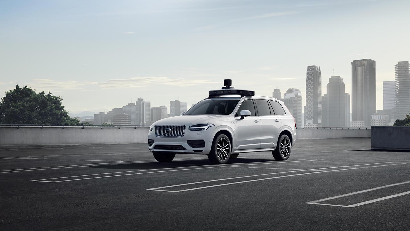 Volvo Cars and Uber present first autonomous drive-ready production car