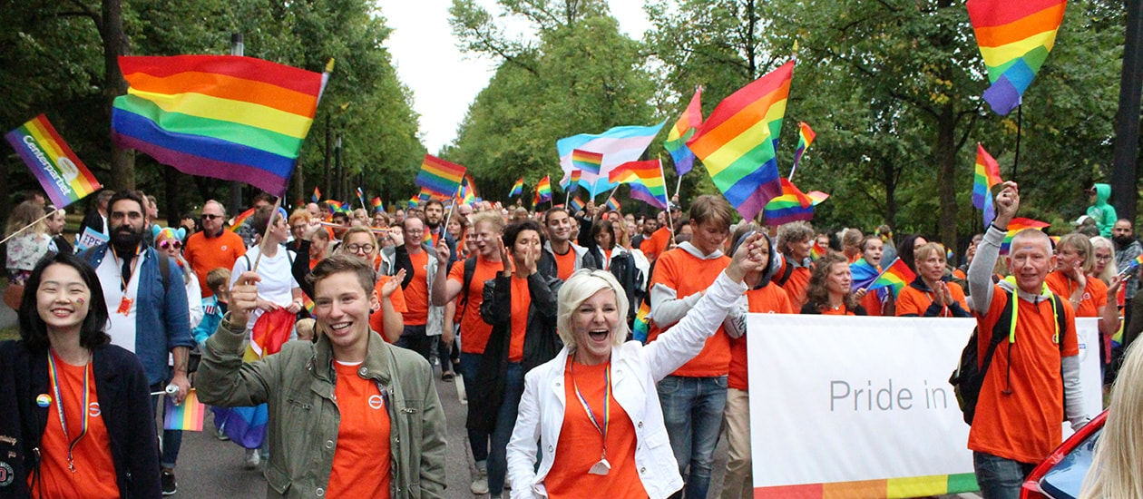 Volvo Cars employees celebrate Euro Pride in Gothenburg