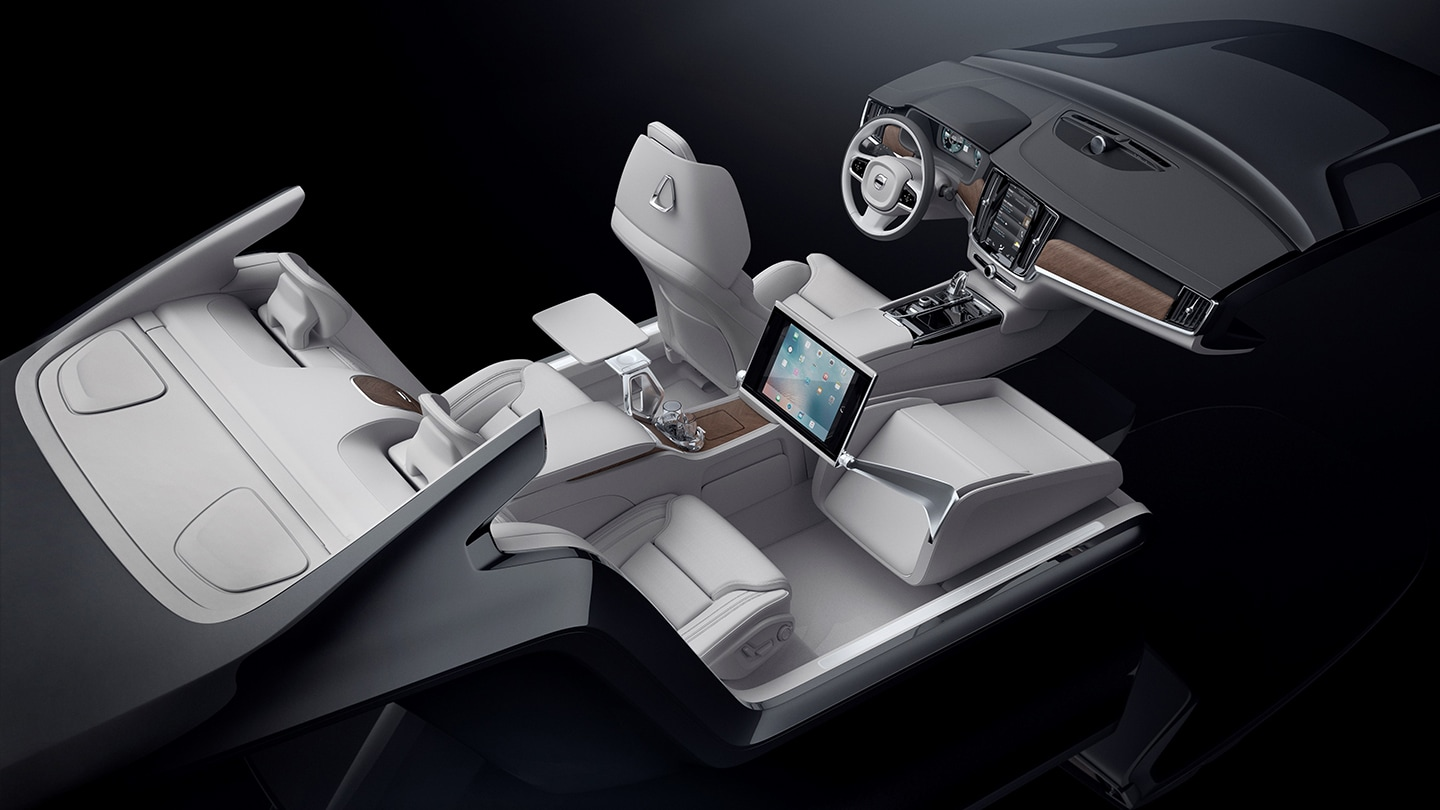 Excellence interior concept Volvo Cars